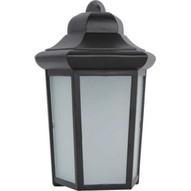 Morris Products 72134 Led Ornamental Entryway Lights 9w 4000k 120v Black Housing-1