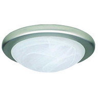 Morris Products 72200 Led Decorative Ceiling Lighting Silver Bay Collection 13'' 17w 3000k Satin Nickel-1