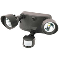 Morris Products 72568 Led Motion Activated Security Flood Lights Dual Head 24 Watts Bronze 5000k-1