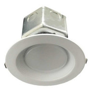 Morris Products 72640 Led Downlight - New Construction 4'' 10w 3000k Smooth Trim-1