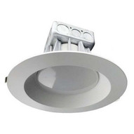 Morris Products 72655 Led Downlight - New Construction 8'' 25w 5000k Baffle Trim-1