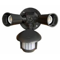 Morris Products 73210 Motion Activated Twin Par Light Bronze-1