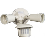 Morris Products 73211 Motion Activated Twin Par Light White-1
