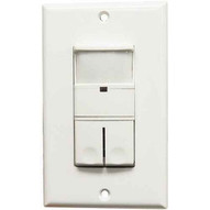 Morris Products 80548 Wall Mount Occupancyvacancy Sensors - Double Pole - Pir-3 Way White-1