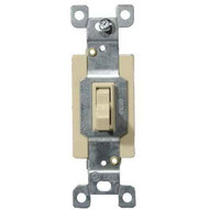 Morris Products 82025 Commercial 3 Way Toggle Switch Ivory 20a-120277v-1