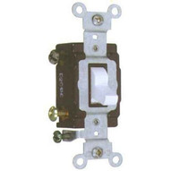 Morris Products 82026 Commercial 3 Way Toggle Switch White 20a-120277v-1