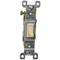 Morris Products 82030 Toggle Switch Ivory 3 Way 15a-120 277v-1