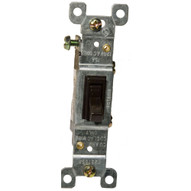 Morris Products 82032 Toggle Switch Brown 3 Way 15a-120 277v-1