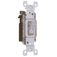 Morris Products 82045 Lighted Quiet Switch Single Pole 15a-120v-1