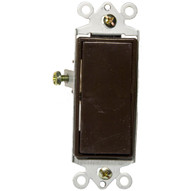Morris Products 82052 Decorator Switches Brown Single Pole 15a-120 277v-1