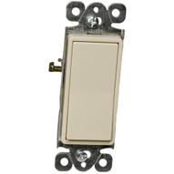 Morris Products 82100 Garbage Disposal Decorator Switch Ivory Momentary Contact 15a 120-277v-1