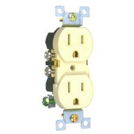 Morris Products 82123 Standard Duplex Receptacle Almond 15a-125v-1