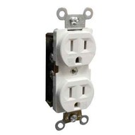 Morris Products 82501 Tamper &amp Weather Resistant Duplex Receptacles 15a 125v White-1