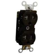 Morris Products 82507 Tamper &amp Weather Resistant Duplex Receptacles 20a 125v Brown-1
