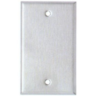 Morris Products 83310 Stainless Steel Metal Wall Plates 1 Gang Blank-1