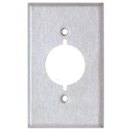 Morris Products 83480 Stainless Steel Metal Wall Plates 1 Gang Metal Range & Dryer Cover-1