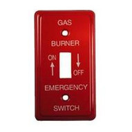 Morris Products 83490 Emergency Metal Switch Plates Utility Oil-1