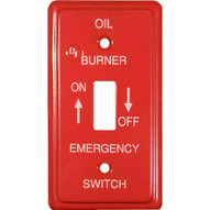 Morris Products 83495 Emergency Metal Switch Plates Utility Gas-1