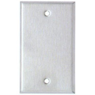 Morris Products 83710 Stainless Steel Metal Wall Plates Oversize 1 Gang Blank-1