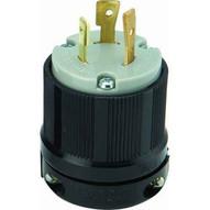 Morris Products 89746 Twist Lock Male Plugs 2 Pole 3 Wire 20a 250vac-1