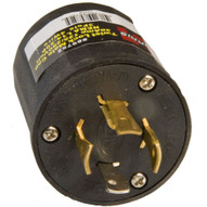 Morris Products 89752 Twist Lock Male Cap 3 Pole 4 Wire 125-250vac 20amp-1