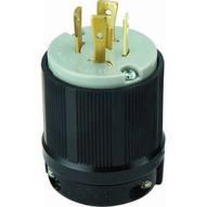 Morris Products 89755 Twist Lock Male Plugs 3 Pole 4 Wire 20a 250vac-1