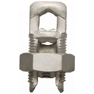 Morris Products 90416 Split Bolt Connectors With Spacer Dual Rated For Copper & Aluminum Conductors #2-1