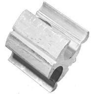 Morris Products 90433 Aluminum H Tap #6-#1 Run To #6-#1 Tap-1