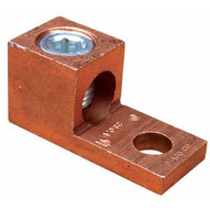 Morris Products 90568 Copper Connector Extruded Style One Conductor 4 0-#2-1