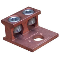 Morris Products 90593 Copper Connector Extruded Style Two Conductors 350-6-1