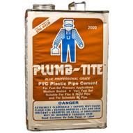 Morris Products G2024 Gallon Plumb-tite 2000 Wet Application Blue Cements-1