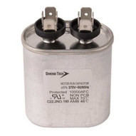 Diversitech T37075HB Motor Run Capacitors Single Capacitance Oval Can - 370 Vac 7.5 Uf (100 In A Box)-1