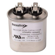Diversitech T45200HU Capacitors - Single Capacitance Oval Metal Made In Usa 20 Uf-1