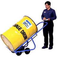 Morse 160 4-wheel Drum Truck Self Standing 1000 Lb. Capacity Polyolefin Wheels Move Palletize Pour 30 55 Or 85 Gallon Rimmed Steel Fiber Or Poly Drum-1