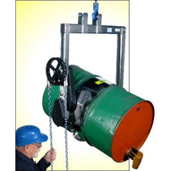 Morse 185A-HDSS Kontrol-karrier Type 304 Stainless Steel 55-gallon 1500 Lb. Capacity-1