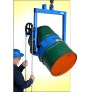 Morse 185A-HD Heavy-duty Kontrol-karrier 22''-23.5'' Diameter 55-gallon Drum Geared Tilt 1500 Lb. Capacity-1