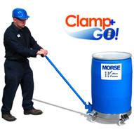 Morse 24 Clamp+go Dolly Handle (patended Design) Detachable & Adjusts For 2'' To 3'' Drum Dolly Sidewall-1