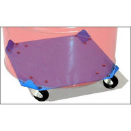 Morse 34-30 Square Drum Dolly For 30-gallon Drum With Up To 20'' Diameter 1000 Lb. Capacity-1