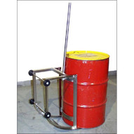 Morse 36-SS Drum Cradle Truck Made Of Type 304 Stainless Steel 55-gallon Steel Drum 500 Lb. Capacity-1