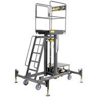 Ballymore MR-28-AC Two Person 28' Telescoping Ac Powered Hydraulic Maintenance Lift-1