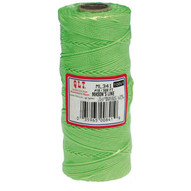 Marshalltown ML341 Braided Nylon Mason's Line 500' Fl. Green Size 18 6 Core-1