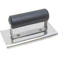 Marshalltown CE384P 6 X 3 Steel Concrete Edger 38r 12l-curved Ends-plastic Handle-1