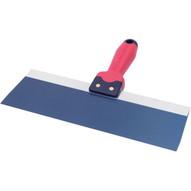 Marshalltown BSTK6 Blue Steel Taping Knife 6 X 3 - Qlt Soft Grip Handle-1