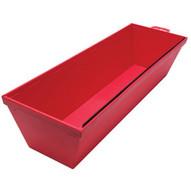 Marshalltown 914 12 Red Plastic Mud Pan-1