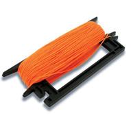 Marshalltown 921 Mason's Line Winder-fl. Orange Braided Nylon-1