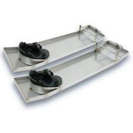 Marshalltown KB230 Stainless Steel Knee Board With Knee Pads-1
