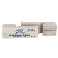 Marshalltown 86 3 34 Wood Line Blocks (pair)-1