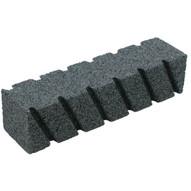 Marshalltown 16547 6 X 2 X 2 Fluted Rub Brick 20 Grit-1