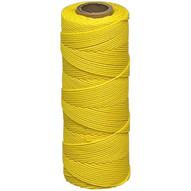 Marshalltown 624 Braided Nylon Mason's Line 500' Yellow Size 18 6 Core-1