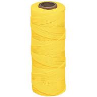 Marshalltown 628 Braided Nylon Mason's Line 1000' Yellow Size 18 6 Core-1